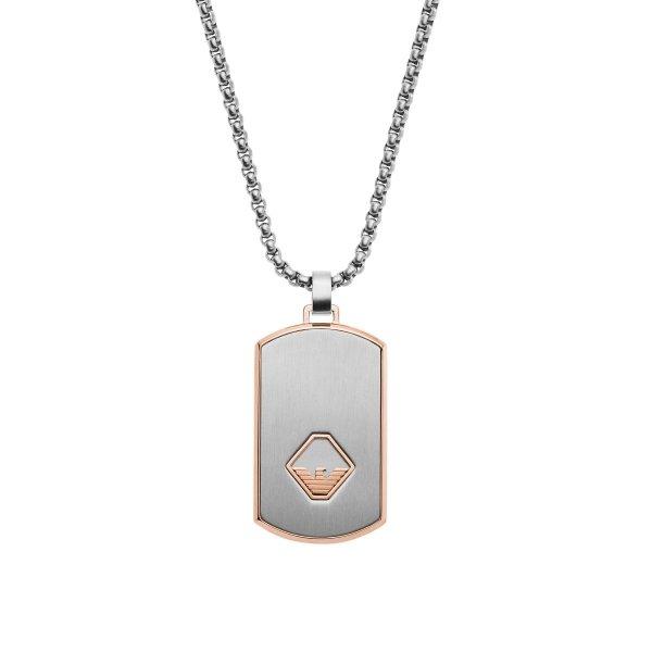 naszyjnik Emporio Armani EGS2634040 • ONE ZERO • Modne zegarki i biżuteria • Autoryzowany sklep