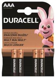 DURACELL Basic AAA/LR03 K4 Bateria alkaliczna