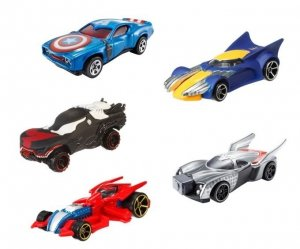 HW Marvel Samochodziki bohaterowie Ast.