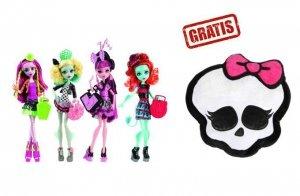MH Upiorna wymiana Ast + GRATIS Monster High poduszka czaszka