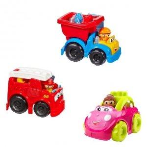 Mega Bloks Pojazd Mix First Builders Ast.