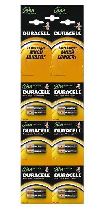DURACELL Basic AAA HBDC 6x2sz