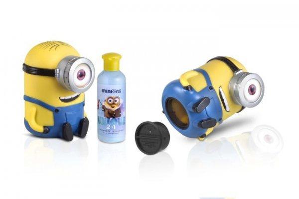 Minionki żel pod prysznic & szampon 200 ml w skarbonce