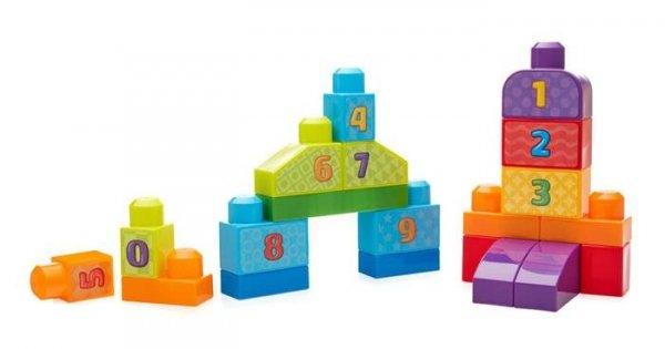 Mega Bloks First Builders Liczymy 1-2-3!