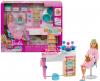 Barbie Zestaw Salon Spa Maseczka Mattel GJR84