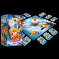Gra Karciana Boom Boom Psiaki i Kociaki Trefl 01909