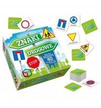 Gra Edukacyjna Znaki Drogowe Pamięć Multigra 3175