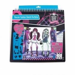 Portfolio z modą Monster High TM Toys 64002