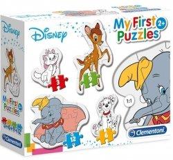 Moje Pierwsze Puzzle Zwierzęta Dinseya 3/6/9/12 el. Clementoni 20806