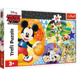 Puzzle Czas na Sport! Disney 24 el. MAXI Trefl 14291