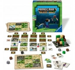 Gra Planszowa Minecraft Buliders Biomes Ravensburger 268672