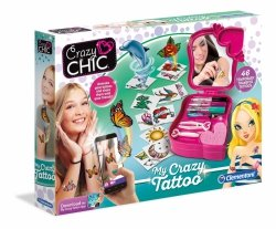 Crazy tatuaże Crazy Chic Clementoni 78252