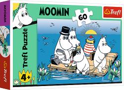 Puzzle Muminki nad Jeziorem 60 el. Trefl 17352