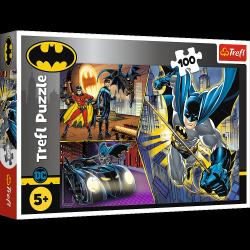 Puzzle Nieustraszony Batman 100 el. Trefl 16394