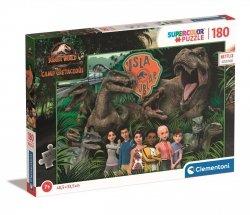 Puzzle Jurassic World Dinozaury 180 el. Clementoni 29774