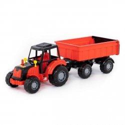 Majster traktor z przyczepą Polesie 35257
