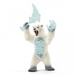 Figurka Niedźwiedź Zamieci z Bronią Blizzard Eldorador Schleich 42510
