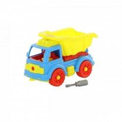 Klocki transport Samochód wywrotka ze śrubokrętem Polesie 73006