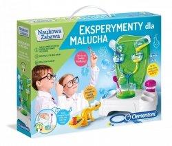 Eksperymenty dla Malucha Naukowa Zabawa Clementoni 60597