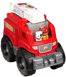 Wóz strażacki First Builders Mega Bloks Fisher Price DXH38