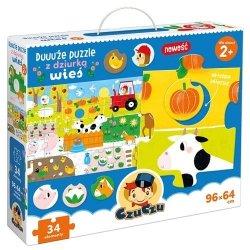 Duuuże puzzle z Dziurką Wieś CzuCzu 49073