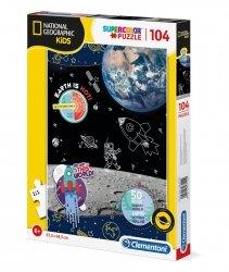 Puzzle Badacz Kosmosu National Geographic 104 el. Clementoni 27142