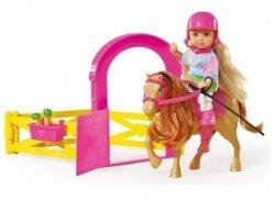 Stajnia Evi Zestaw Lalka + koń Simba 5732793