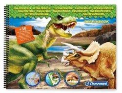 Szkicownik Przygody dinozaurów Clementoni 15797