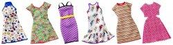 Modne sukienki Barbie Mattel FCT12