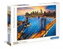 Puzzle Nowy Jork 3000 el. Clementoni 33546