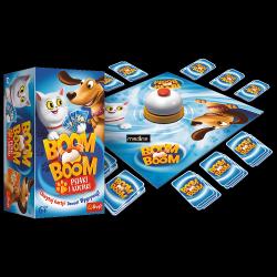 Gra Karciana Boom Boom Psiaki i Kociaki Trefl