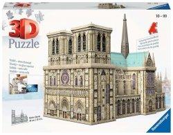 Puzzle 3D Katedra Notre Dame 324 el. Ravensburger 125234