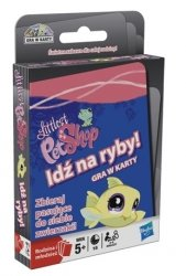 Karty Littlest Pet Shop Gra Idź na Ryby Hasbro 91397