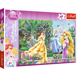 Puzzle Spacer przed balem Princess 260 el. Trefl 13141