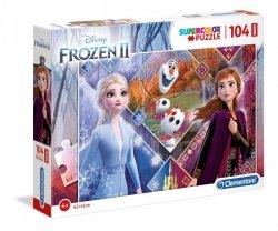 Puzzle Maxi Frozen 2 104 el. Clementoni 23739