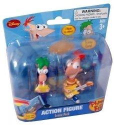Fineasz i Ferb 2 figurki + scenografia TM Toys 03334