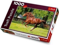 Puzzle Konie Galop 1000 el. Trefl 10201
