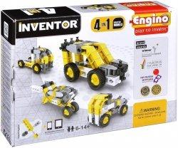 Klocki konstrukcyjne Engino Inventor 4w1 Pojazdy Przemysłowe Formatex 0434