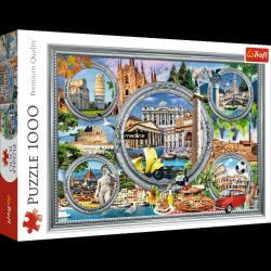 Puzzle Włoskie Wakacje 1000 el. Trefl 10585