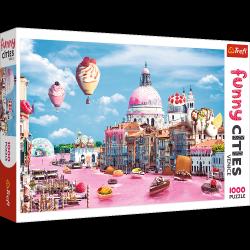 Puzzle Słodycze w Wenecji 1000 el. Trefl 10598