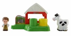Mleczna Obórka Little People Fisher Price CDH27