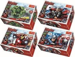 Puzzle Drużyna Avengers mini 54 el. Trefl 54140