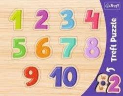 Puzzle Cyferki Ramkowe 8 el. Trefl 31304