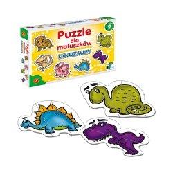 Puzzle dla Maluszków Dinozaury 27 el. Alexander 0542