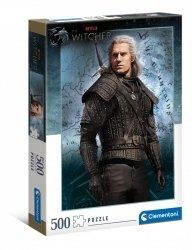 Puzzle Wiedźmin The Witcher Netflix 500 el. Clementoni 35092
