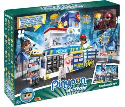 PinyPon Action Zestaw Komisariat z 2 Figurkami 7 cm i Akcesoriami Epee