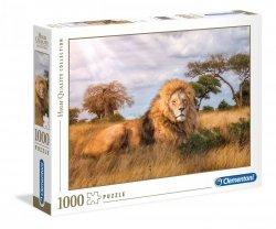 Puzzle Król Zwierząt Lew 1000 el. Clementoni 39479