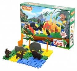 Klocki Zoo  228 elementów w pudełku Polesie 4802