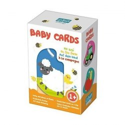 Karty na klipsie Baby Cards Na wsi Trefl 01619