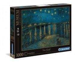 Puzzle Gwiaździsta Noc Vincent van Gogh 1000 el. Clementoni 39344